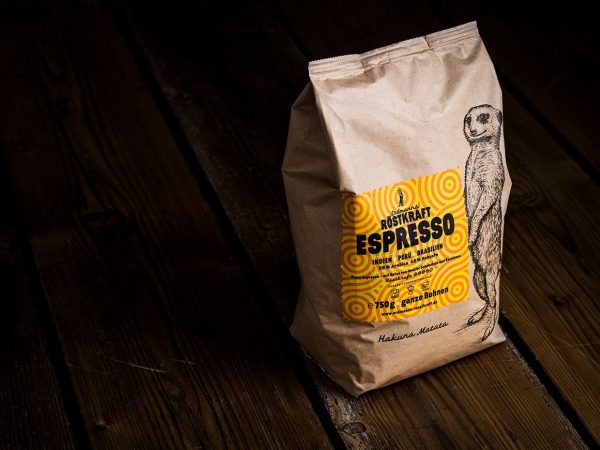 Erdmanns Röstkraft Espresso